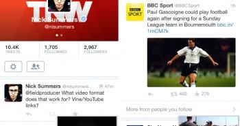 تحديث تويتر يتيح تشغيل مقاطع الفيديو ومتابعة التصفح معاً على iOS