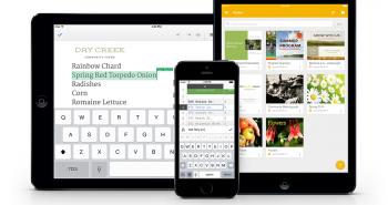 العروض التقديمية و تحرير المستندات بدون اتصال من قوقل يصل إلى iOS