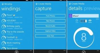 WindUp منافس سناب شات من مايكروسوفت على ويندوز فون