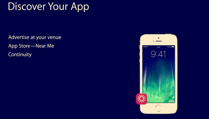 الاستمرارية iOS 8