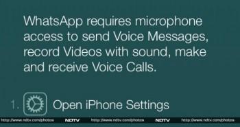 الواتساب يؤكد قدوم المكالمات الصوتية على iOS
