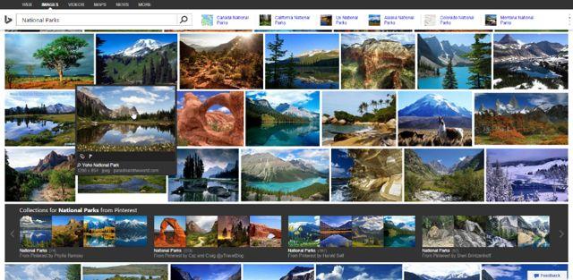 بحث بينج صور مايكروسوفت تحذف أداة Bing Image Widget