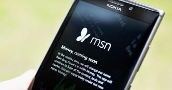 مايكروسوفت تستبدل اسم تطبيقات بينج إلى MSN على ويندوز فون