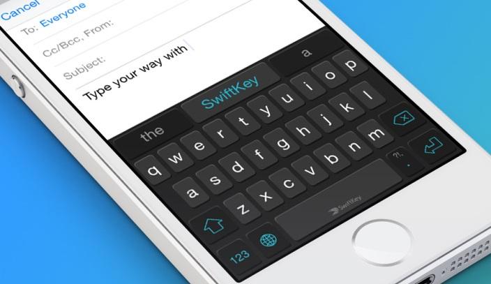 سويفت كي لوحة المفاتيح سويفت كي قادمة إلى iOS 8