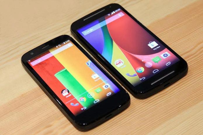 موتورولا موتو جي 2014 وهاتف موتو إكس الجديد