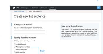 تويتر تحدث أدوات إدارة واستهداف الجمهور بالإعلانات