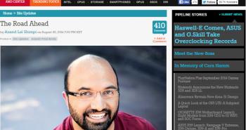 مؤسس موقع AnandTech التقني ينتقل إلى آبل