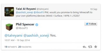 مايكروسوفت تؤكد: ماين كرافت قادمة إلى ويندوز فون