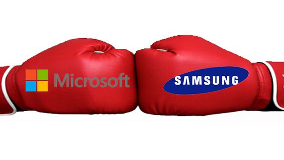 MicrosoftVsSamsung