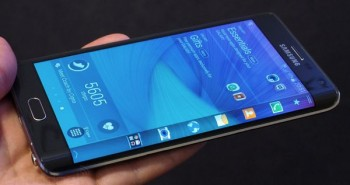 هاتف Galaxy Note Edge تحت المجهر