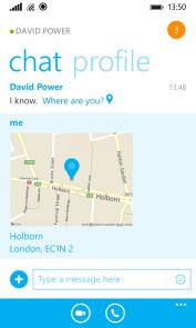 location sharing 2 تطبيق سكايب يضيف خدمة مشاركة الموقع على ويندوز فون