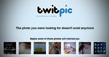 مفاجأه: خدمة Twitpic لن تتوقّف!