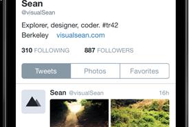 """تصميم جديد """"تمامًا"""" لتويتر على iOS 8"""