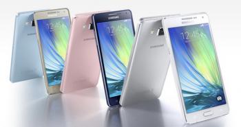 سامسونج تكشف عن هاتفي Galaxy A5 و Galaxy A3 بتصميم معدني