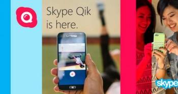 سكايب تطلق تطبيق Skype Qik للدردشة عبر الفيديو