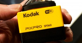 كوداك تُعلن عن كاميرا PIXPRO SP360 بزاوية تصوير 360 درجة