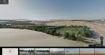 ستريت فيو تأخذك في جولة إلى صحراء ليوا الإماراتية