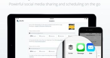 تحديث Buffer يدعم الآيباد ويسهل المشاركة