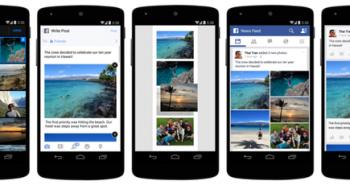فيسبوك تضيف طرق جديدة لمشاركة الصور على آيفون و أندرويد