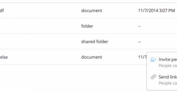 دروب بوكس تدرج زرًّا لمشاركة الملفات عبر منصة سطح المكتب
