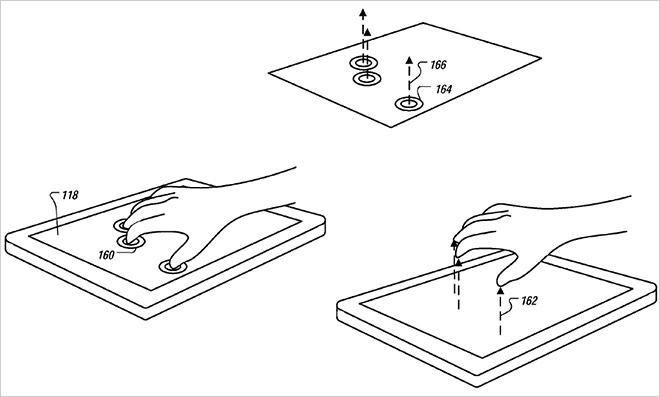 شاشات أبل ثلاثية الأبعاد