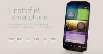 Linshof i8 – هاتف بسعة تخزين 80 جيجا وصناعة ألمانية