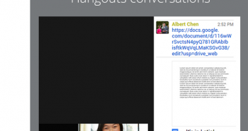قوقل توفر مشاركة مستندات درايف مع دردشة Hangouts