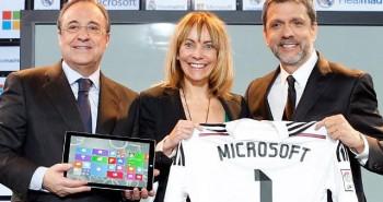 مايكروسوفت تساعد ريال مدريد للتواصل مع جمهوره