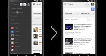Google Trends الآن تعرض أكثر مقاطع يوتيوب شعبية