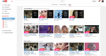 يوتيوب تطلق خدمتها الموسيقية المدفوعة رسمياً