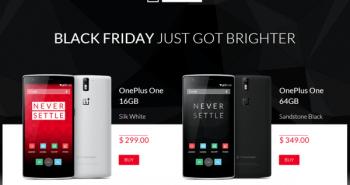 هاتف OnePlus One متاح للجميع بدون دعوات في الجمعة السوداء