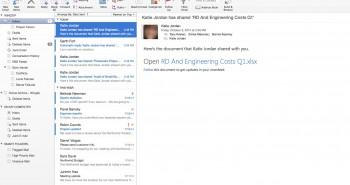 لمشتركي أوفيس 365: مايكروسوفت تطلق إصدارًا جديدًا من أوتلوك لأجهزة ماك