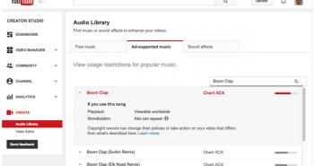 يوتيوب تخبرك كيف تؤثر المقاطع الصوتية محفوظة الحقوق على فيديوهاتك قبل الرفع