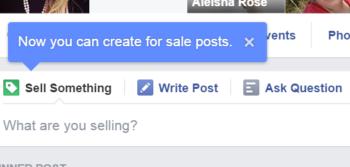 فيس بوك تختبر ميزة تساعد مجموعات البيع في عرضالمنشورات