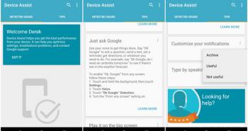 قوقل تطلق تطبيق Device Assist لمستخدمين أجهزة نيكسوس