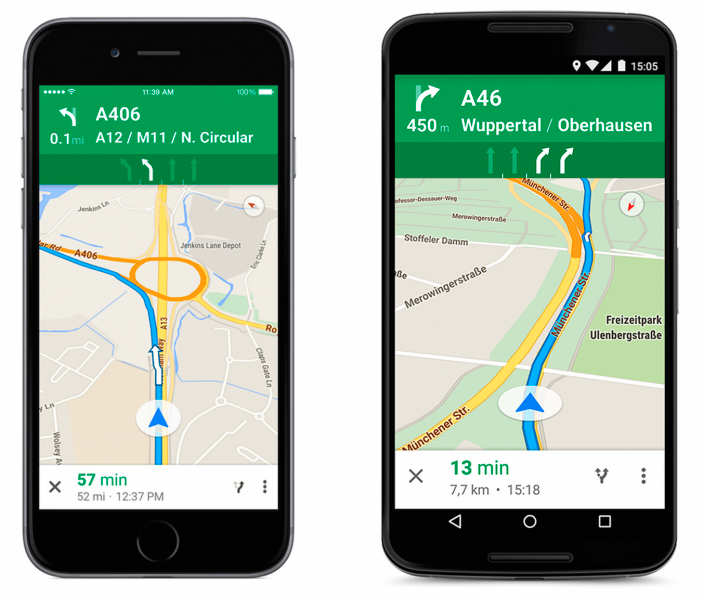 google-maps-lane-guidance