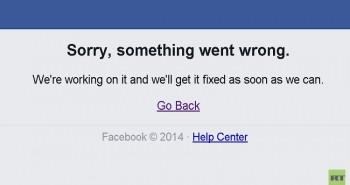 فيس بوك تنفي أن يكون توقفها نتيجة القرصنة