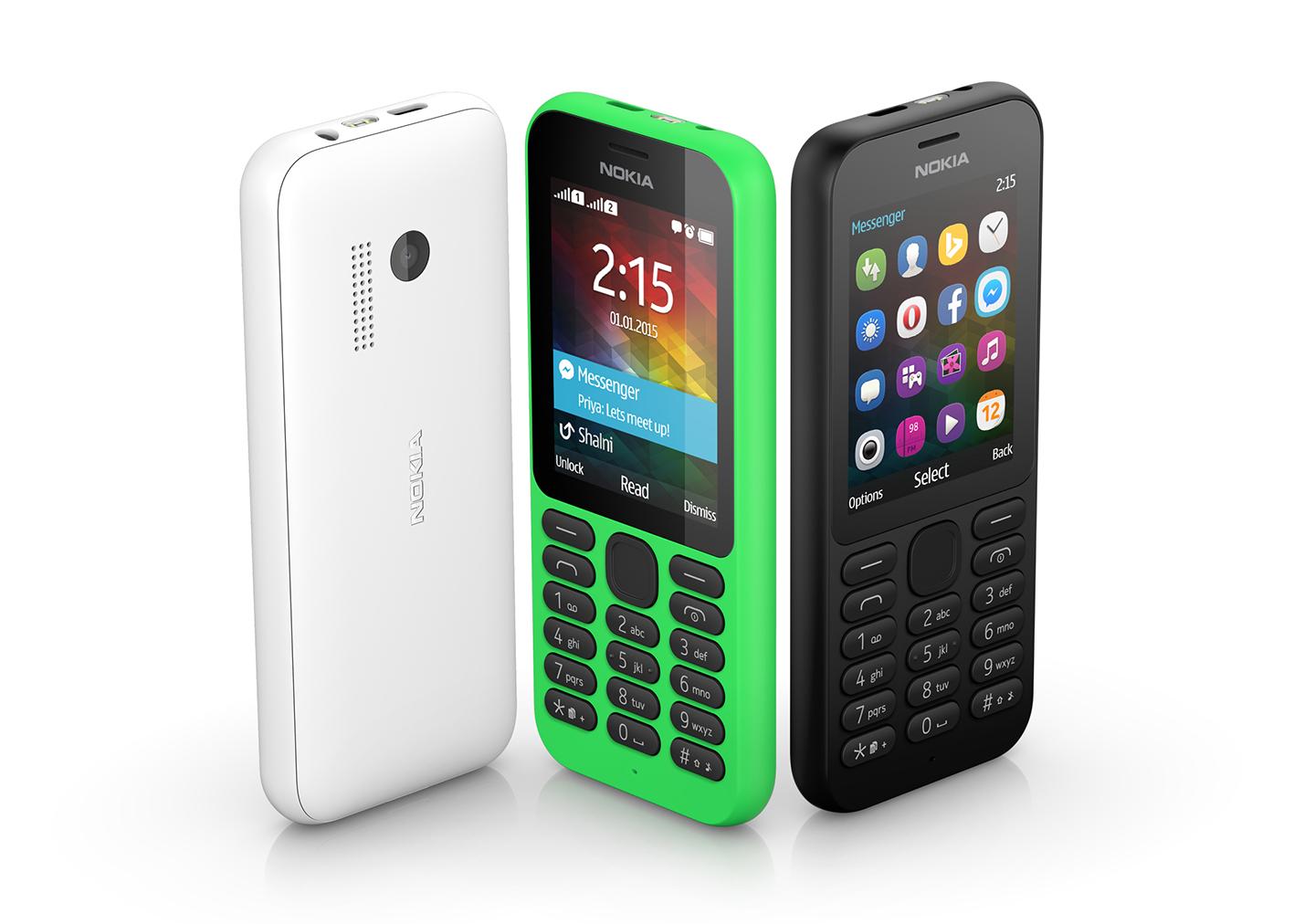 مايكروسوفت تعلن عن هاتف نوكيا 215 - عالم التقنية