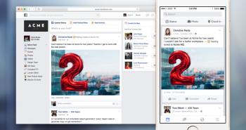 فيس بوك تكشف عن شبكتها الاجتماعية لقطاع الأعمال