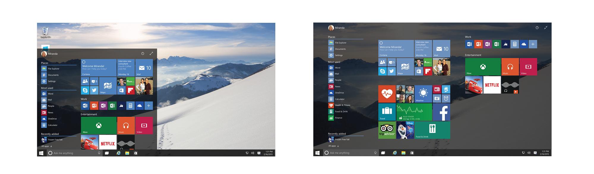 مؤتمر مايكروسوفت: الملخص الشامل عن ويندوز 10 win10_windows_starts