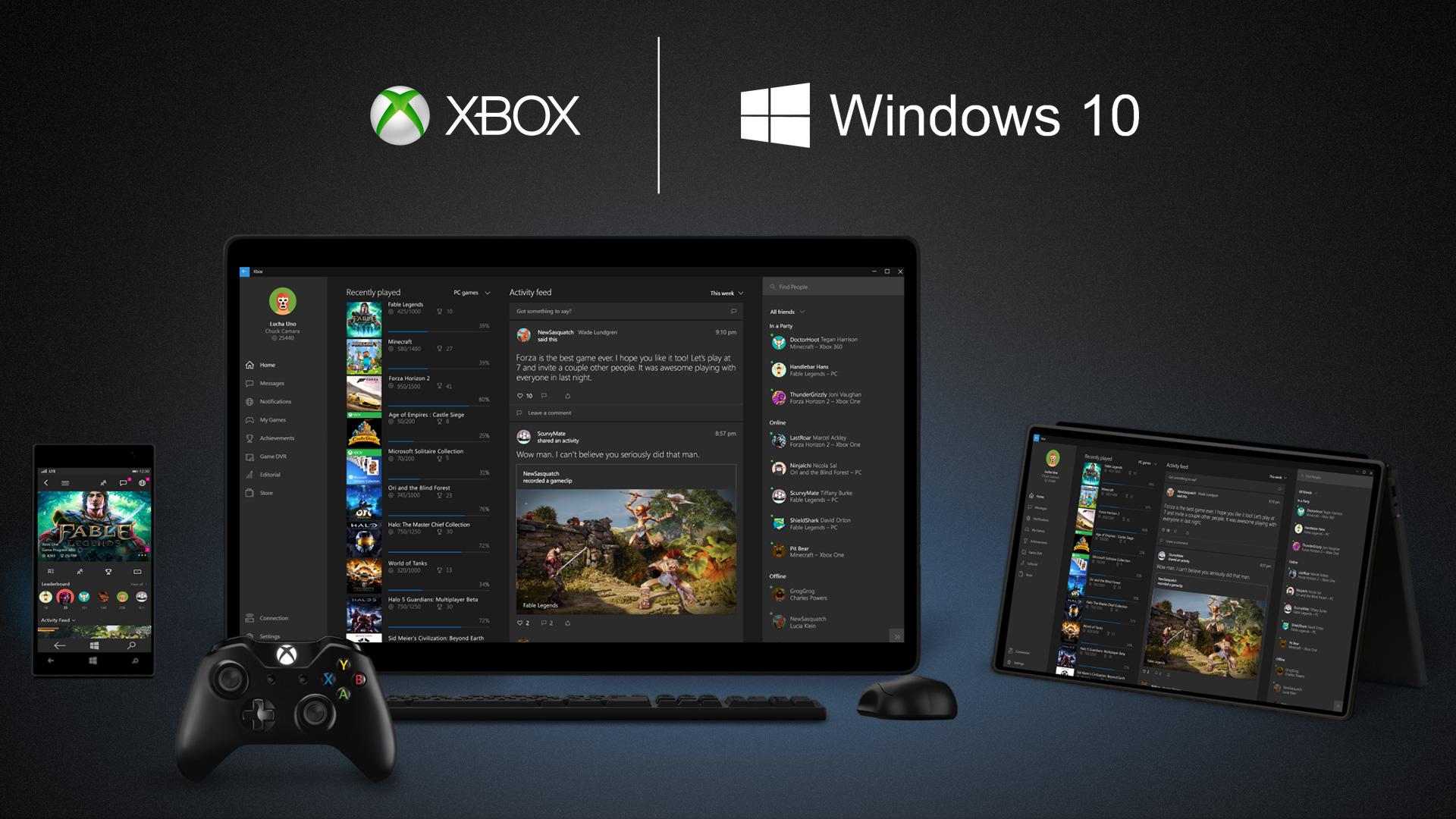 مؤتمر مايكروسوفت: الملخص الشامل عن ويندوز 10 win10_xbox_devices_w