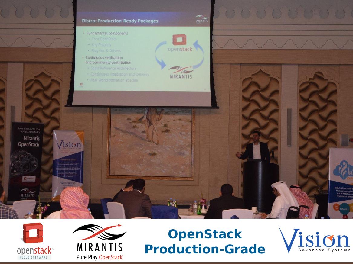 مؤتمر OpenStack Production-Grade للحوسبة السحابية بالدوحة