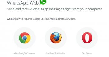 الواتساب عبر الويب الآن يدعم متصفحي فايرفوكس واوبرا