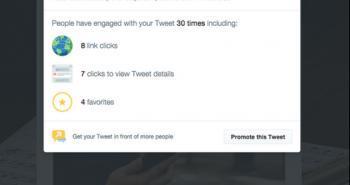 تويتر تختبر احصائيات التغريدات على موقع الويب