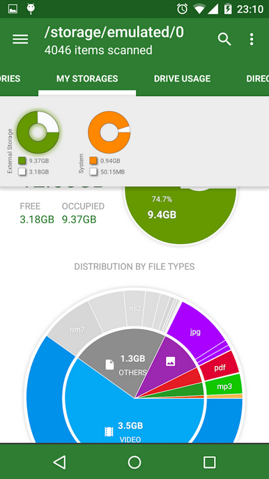 Disk Usage &amp Storage Analyzer