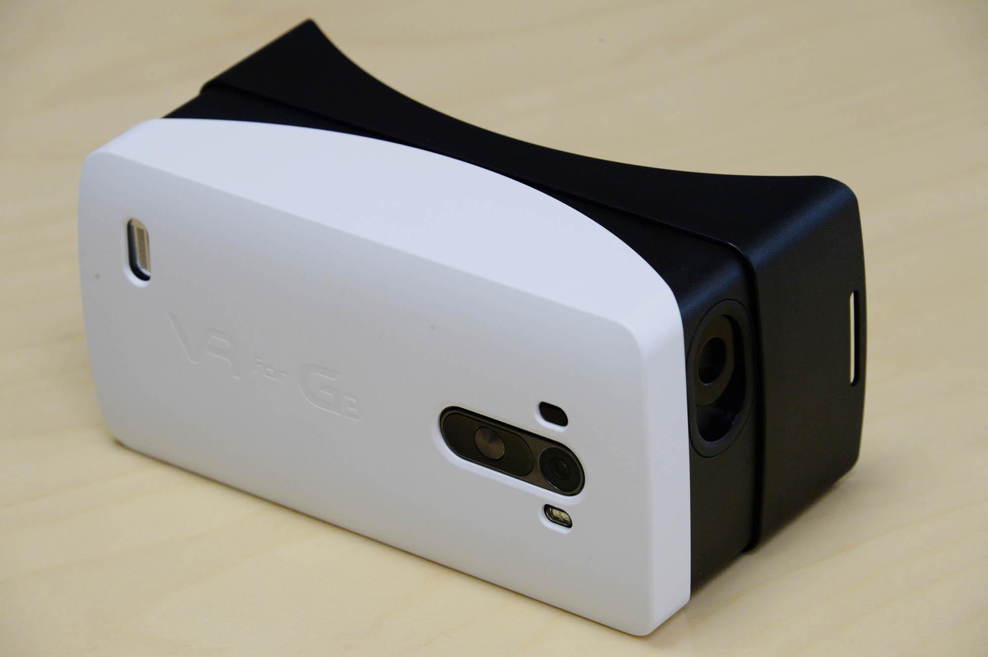LG G3 AND GOOGLE CARDBOARD - VIRTUAL REALITY - IMAGE 2