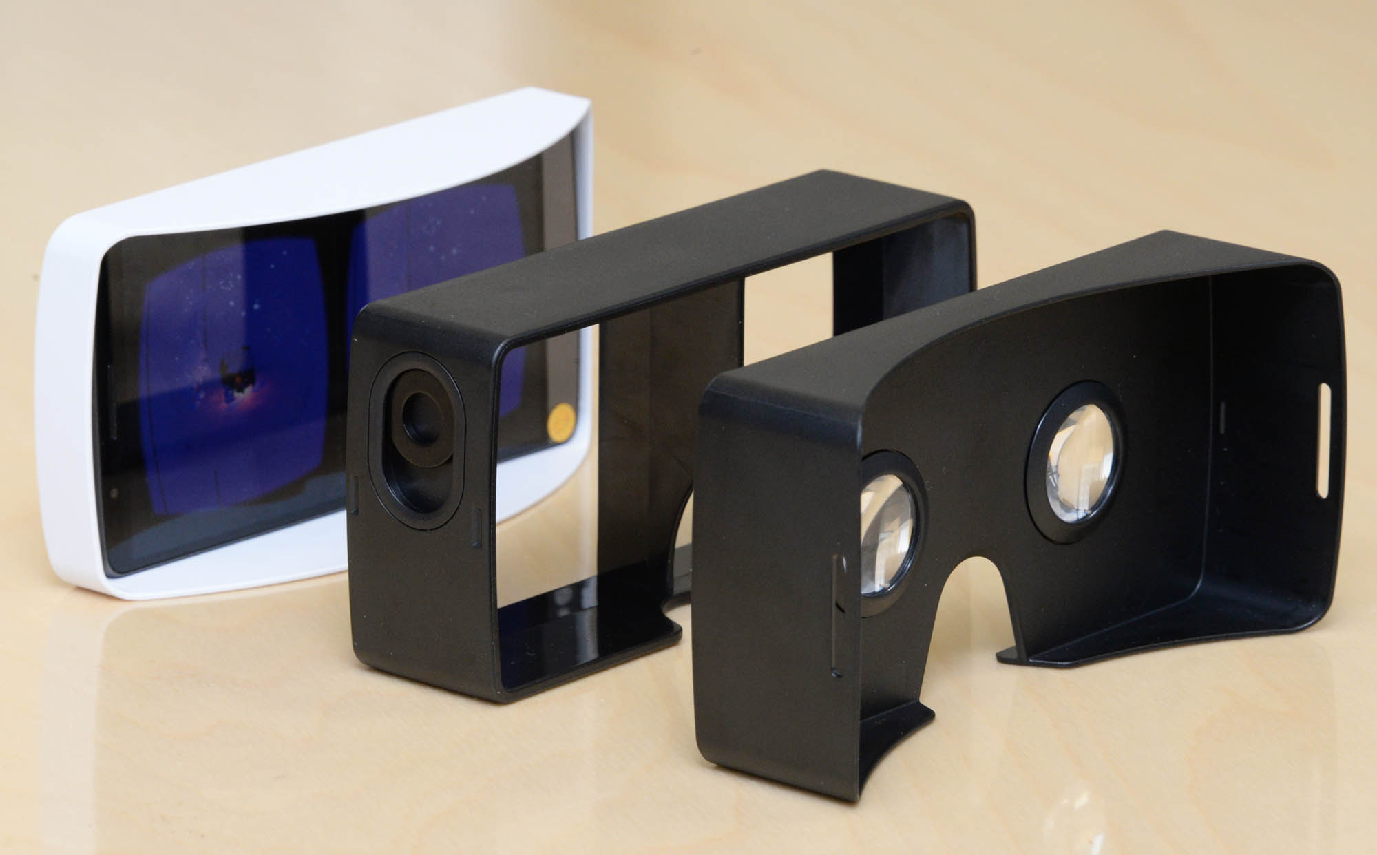 LG G3 AND GOOGLE CARDBOARD - VIRTUAL REALITY - IMAGE 3
