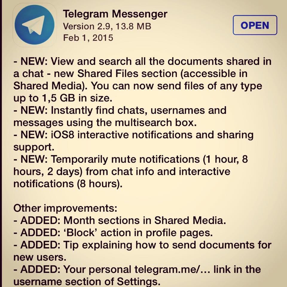 telegram-update