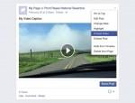 الفيسبوك تسمح بتضمين فيديوهاتها في المواقع