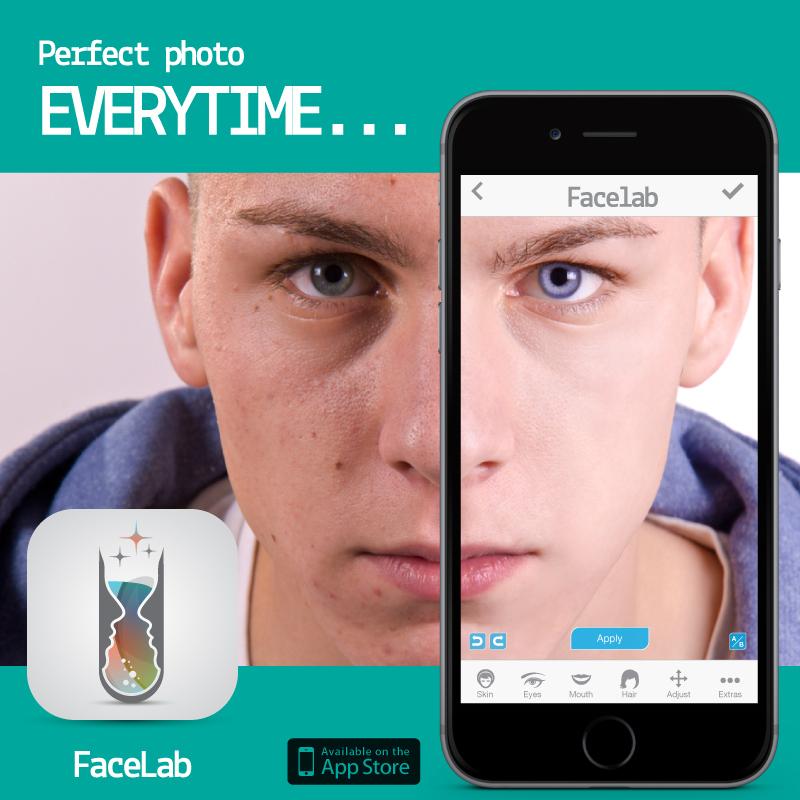 FaceLab لإزالة الشوائب بالوجه بفضل تكنولوجيا تحديد معالم الوجه